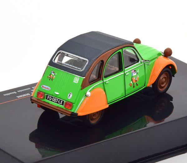 """Citroen 2CV """"Deuchie"""" Groen / Oranje 1-43 Ixo Models"""