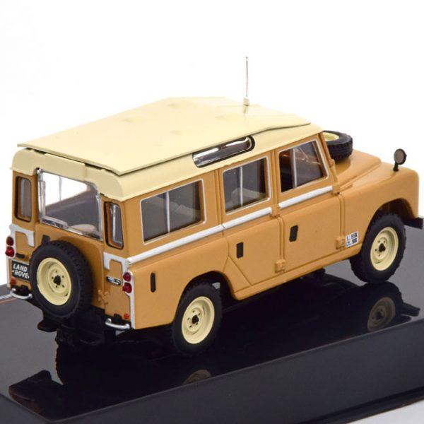 Land Rover 109 S2 Station Wagon 1958 Bruin / Beige 1-43 Ixo Models