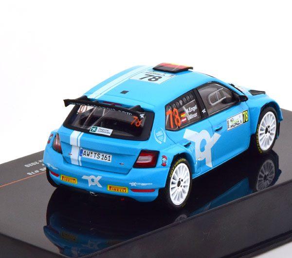 Skoda Fabia R5 Evo No.78, ACI Rally Monza 2020 Engel/Minor Blauw 1-43 Ixo Models