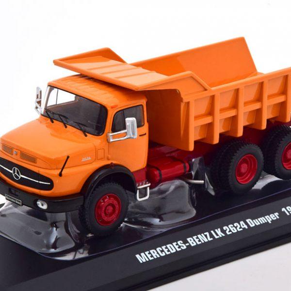 Mercedes-Benz LK2624 Dumper 1979 Orange Ixo Models