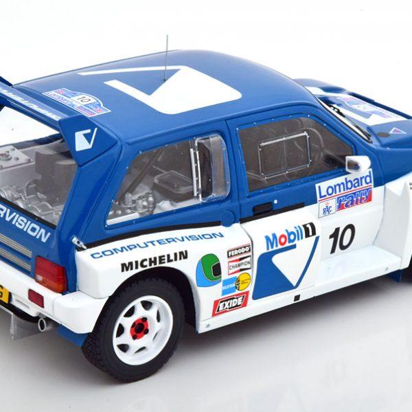 MG Metro 6R4 No.10, RAC Rally 1986 Wilson/Harris 1-18 Ixo Models