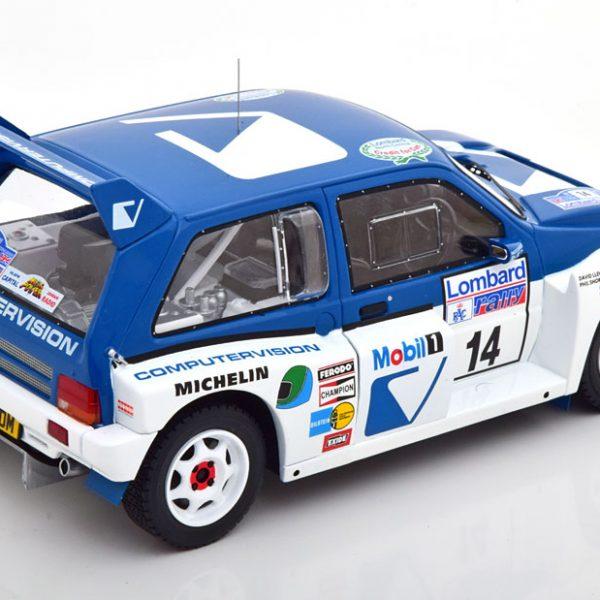 MG Metro 6R4 No.14, RAC Rally 1986 Liewellin/Short 1-18 Ixo Models
