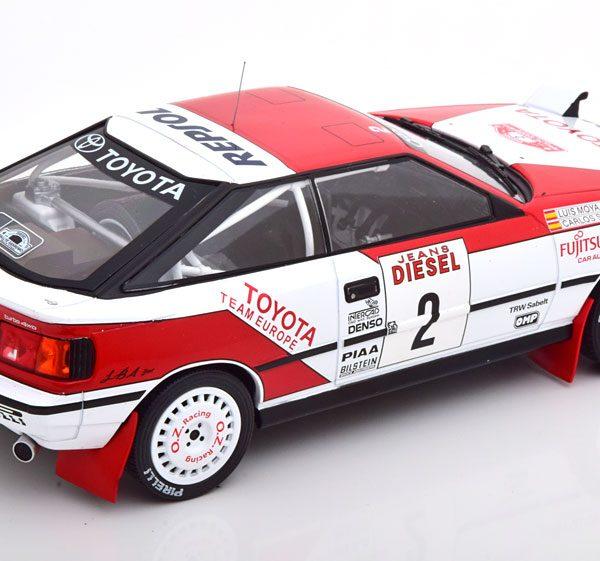 "Toyota Celica GT-4 ST165 No.2, Rally San Remo 1990 ""Marlboro"" Sainz/Moya 1-18 Ixo Models"