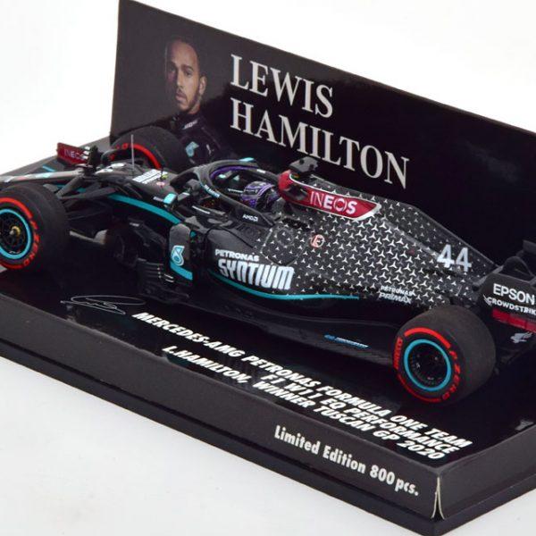 Mercedes-AMG Petronas F1 Team W11 EQ Performance Winner GP Tuscan 2020, World Champion L.Hamilton 1-43 Minichamps Limited 800 Pieces