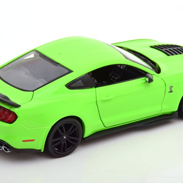 Shelby Ford Mustang GT500 2020 Groen 1-24 Maisto