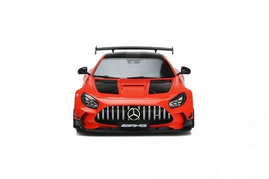 Mercedes-Benz AMG GT Black Series 4.0L Twin-Turbo V8 Magma 2021 Orange 1-18 GT Spirit Limited 1400 Pieces