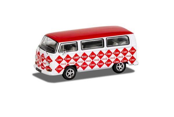 """Volkswagen Campervan """"Coca Cola"""" 1-43 Wit/Rood Corgi"""