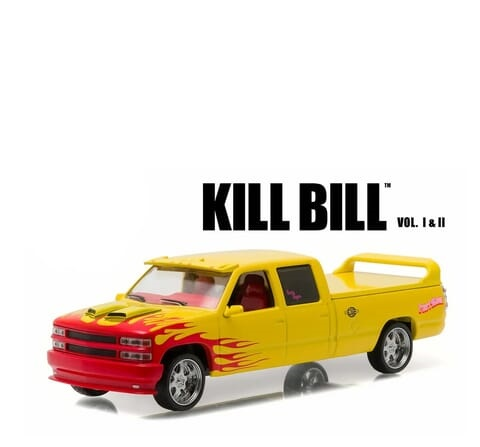 "Chevrolet C-2500 Custom Crew Cab 1997 ""Movie Kill Bill (2003) Yellow / Red 1-43 Greenlight Collectibles"