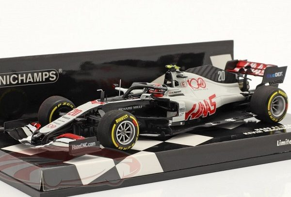 Haas F1 Team VF-20 #20 Abu Dhabi GP F1 2020 Kevin Magnussen 1:43 Minichamps Limited 320 Pieces