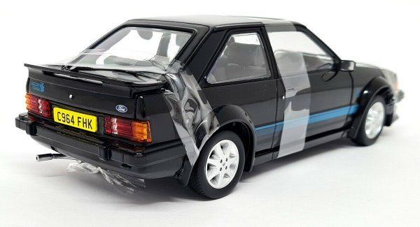 Ford Escort RS MKIII Turbo 1984 Zwart 1-18 Sun Star