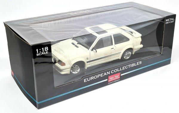Ford Escort RS MKIII Turbo 1984 Diamond White 1-18 Sun Star