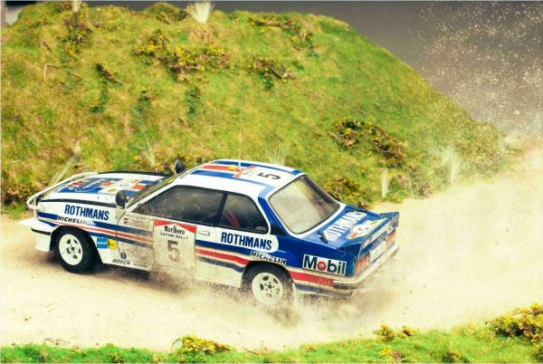 "Opel Ascona 400 #5 2nd Marlboro Safari Rally 1982 ""Rothmans"" W.Röhrl - C.Geistdörfer 1-18 Sun Star Limited 1999 Pieces"