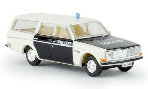 Volvo 145 Kombi, Polizei Baselland, 1:87, Brekina